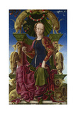 A Muse (Calliop), 1455-1460 Giclee Print by Cosimo Tura