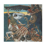 The Defense of the Sampo, 1896 Giclee Print by Akseli Gallen-Kallela