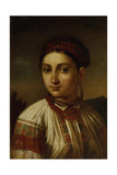 Girl from Podillia Giclee Print by Vasili Andreyevich Tropinin