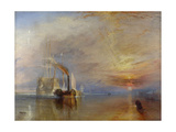 The Fighting Temeraire, 1839 Giclee Print by Joseph Mallord William Turner