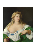 A Blonde Woman, C. 1520 Giclee Print by Jacopo Palma Il Vecchio the Elder