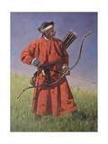 Bukharan Soldier (Sarba) Giclee Print by Vasili Vasilyevich Vereshchagin