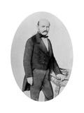 Ignaz Philip Semmelweis (1818-186), Hungarian Obstetrician, 19th Century Giclee Print