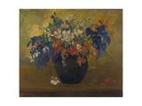 Vase de fleurs, 1896 Reproduction procédé giclée par Paul Gauguin
