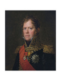 Portrait of Marshal Michel Ney (1769-181), Ca 1805 Giclee Print by François Pascal Simon Gérard