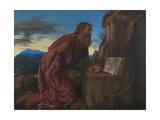Saint Jerome, C. 1527-1530 Giclée-tryk af Giovanni Girolamo Savoldo