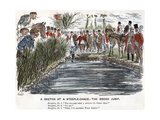 The Brook Jump, 1863 Giclee Print