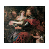 Venus and Mars, 1632-1636 Giclee Print by Pieter Paul Rubens