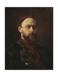 Self-Portrait Giclee Print by Firs Sergeevich Zhuravlev