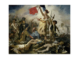 Liberty Leading the People, 1830 Giclee Print by Eugène Delacroix