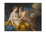 Cupid and Psyche, before 1805 Wydruk giclee autor Louis-Jean-François Lagrenée
