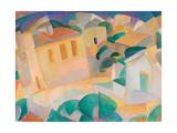 Mallorca, Terreno, 1914 Giclee Print by Leo Gestel