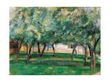 Farm in Normandy, 1885-1886 Giclee Print by Paul Cézanne
