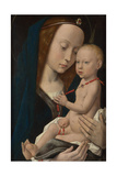 Virgin and Child, Ca 1485 Giclee Print by Hugo van der Goes
