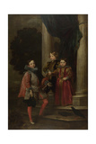 The Balbi Children, C. 1626 Giclee Print by Anthonis van Dyck