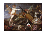 Triumph of Love and Beauty Giclee Print by Thomas Willeboirts