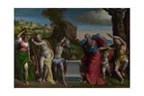 A Pagan Sacrifice, 1526 Giclee Print by Benvenuto Tisi Da Garofalo