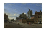 A View in Cologne, C. 1660 Giclee Print by Jan Van Der Heyden