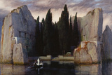 Isle of the Dead, 1883 Wydruk giclee autor Arnold Böcklin