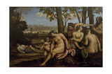 Death of Adonis, 1512 Giclee Print by Sebastiano del Piombo