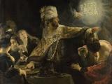 Belshazzar's Feast, Ca 1637 Giclee Print by  Rembrandt van Rijn