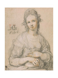 Courtesan, 1606 Giclee Print by Hendrick Goltzius