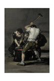 The Forge, C. 1815 Giclee Print by Francisco de Goya
