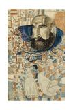 A Coachman, 1912-1928 Giclee Print by Pavel Nikolayevich Filonov