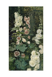 Hollyhocks, 1872 Giclee Print by Marià Fortuny