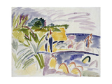 Beach at Fehmarn, 1913 Giclee Print by Ernst Ludwig Kirchner