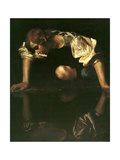 Narcissus, 1598-1599 Giclee Print by  Caravaggio