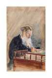 Portrait of the Author Leo N. Tolstoy (1828-191), 1900s Giclee Print by Ilya Yefimovich Repin