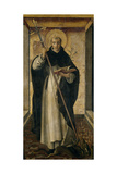 Saint Dominic, 1493-1499 Giclee Print by Pedro Berruguete