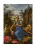 Saint Jerome, C. 1496 Giclée-tryk af Albrecht Dürer
