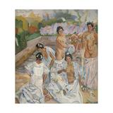 The Bath (Sevill) Giclee Print by Francisco Iturrino