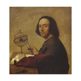 Portrait of the Astronomer Giclee Print by Marco Basaiti
