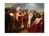 The Wrath of Achilles Giclee Print by Michel Martin Drolling