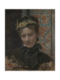 Portrait of a Lady, 1885-1896 Giclee Print by Raimundo De Madrazo Y Garreta