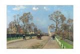 The Avenue, Sydenham, 1871 Reproduction procédé giclée par Camille Pissarro