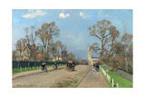 The Avenue, Sydenham, 1871 Giclee Print by Camille Pissarro