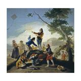 A Kite (La Comet), 1778 Giclee Print by Francisco de Goya