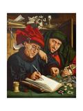 The Tax Collectors, 1520s Giclée-Druck von Quentin Massys