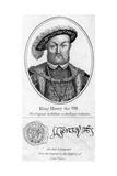 Henry VIII of England, (1491-154) Giclee Print by Hans Holbein the Younger
