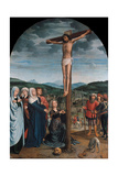 Christ on the Cross, Ca 1515 Giclee Print by Gerard David