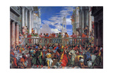 The Wedding Feast at Cana, 1563 Giclee Print by Paolo Veronese