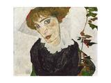 Portrait of Wally Neuzil, 1912 Giclee Print by Egon Schiele