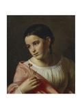 Poor Liza, 1827 Giclee Print by Orest Adamovich Kiprensky