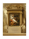 The Apotheosis of Nelson, 1807 Giclee Print by Benjamin West