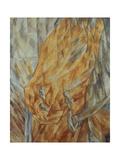 Horse Head, 1912 Giclee Print by Mikhail Vasilyevich Le Dantyu