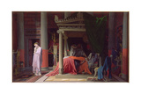 Antiochus and Stratonike, 1840 Giclee Print by Jean-Auguste-Dominique Ingres